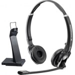 Bluetooth headset with stand